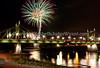 Hispanic Cultural Festival Fireworks Easton, PA 7/27/2013