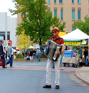 Earl the accordionist, Easton Garlic Fest 2013