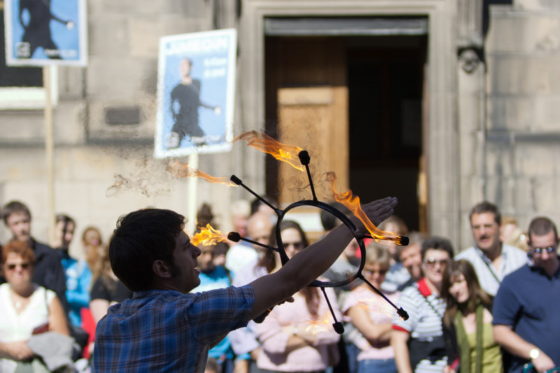 Edinburgh Festival, Scotland