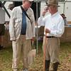 Field trip leaders Dr. Dennis Forsythe, Dr. Richard Porcher