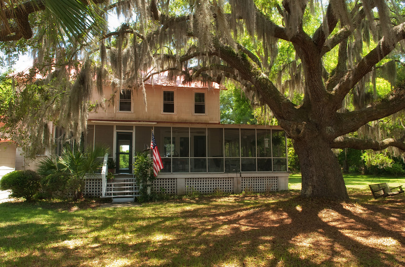 Isaac Jenkins Mikell House, Peter's Point Plantation, Edisto Island