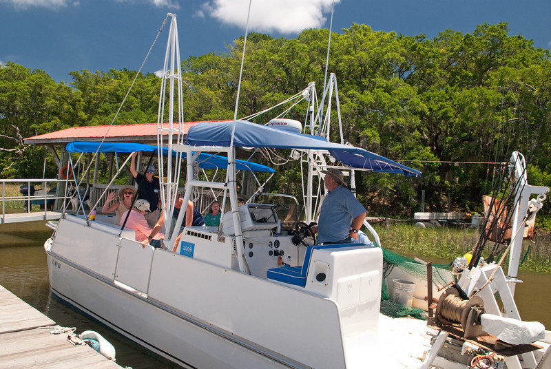Captain Jimmy Bell's Shrimpboat experience outing