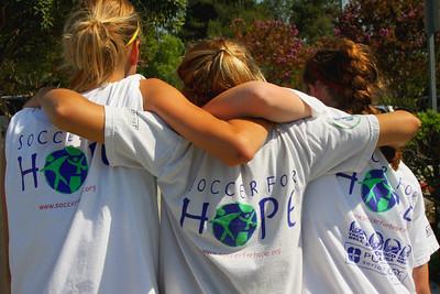 Aug 15, 2008. Soccer for Hope friends.
