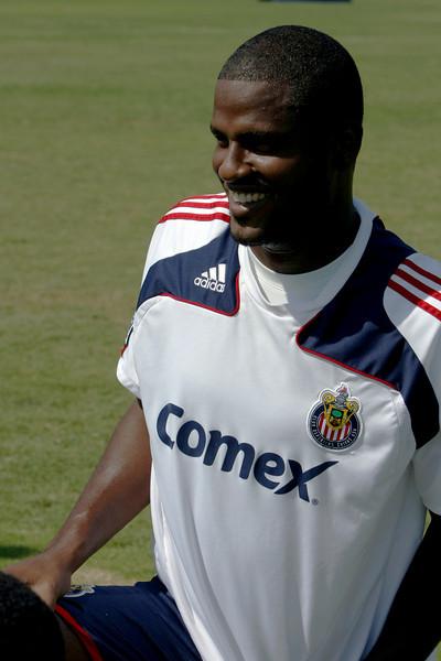 Aug 15, 2008. Chivas player Shavar Thomas.