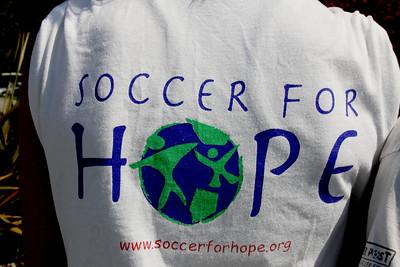Aug 15, 2008. Soccer for Hope camp shirt.