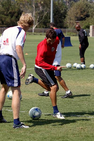 Aug 15, 2008.Chivas team practice.