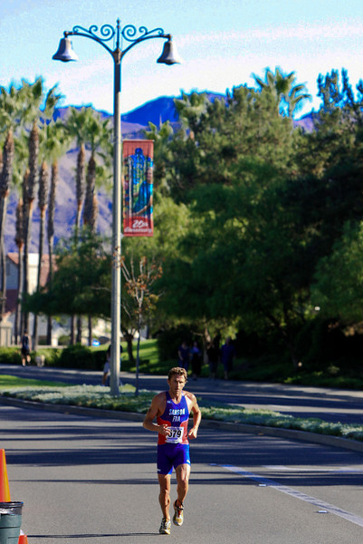 Sanson runs through beautiful Mission Viejo.