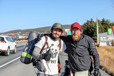 Jake Bestecki rollerblading for World Wildlife Fund WWF Canada