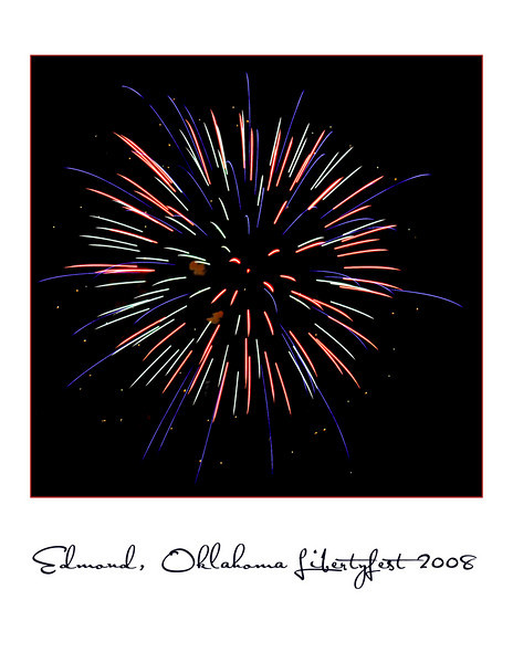 Edmond Fireworks