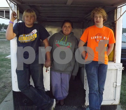 From left to right: Joel Anderson, Avery Anderson, and Levi Whitmer.