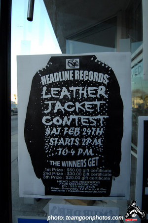 Jacket contest - Edward Colver - Blight at The End of The Funnel book signing at Headline Records - Hollywood, CA - February 24, 2007