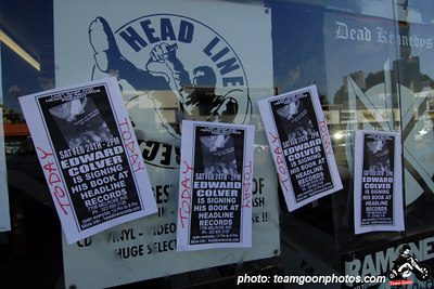 Edward Colver - Blight at The End of The Funnel book signing at Headline Records - Hollywood, CA - February 24, 2007
