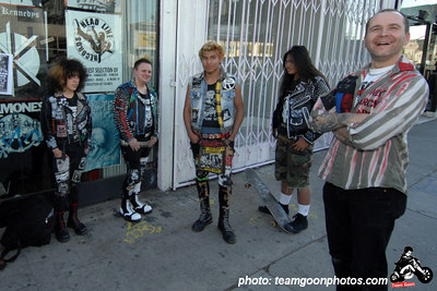 The finalist of jacket contest - Edward Colver - Blight at The End of The Funnel book signing at Headline Records - Hollywood, CA - February 24, 2007