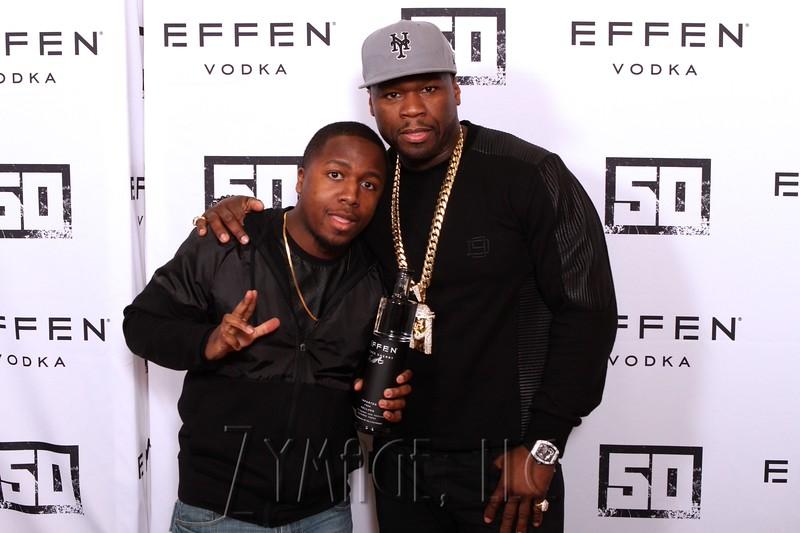 015 Effen Vodka 50 Cent Louisville by Zymage NM