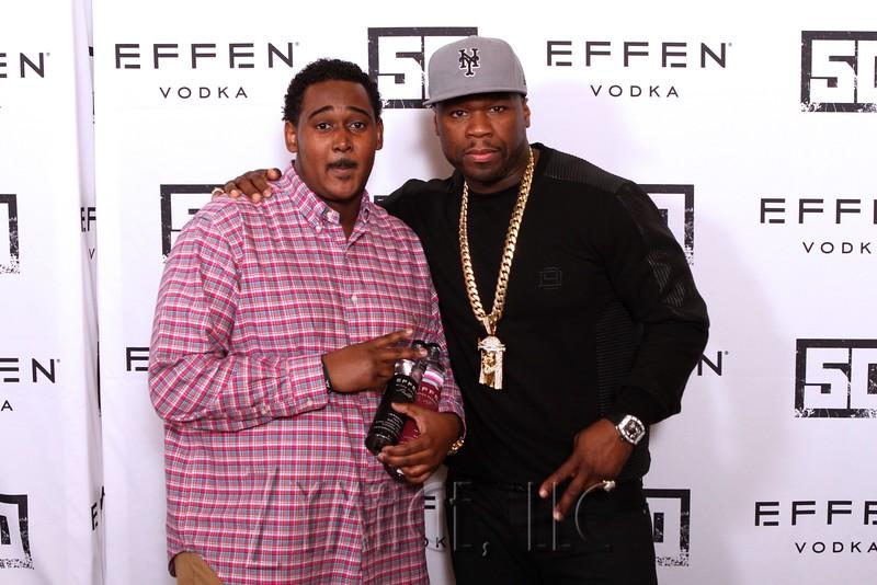 016 Effen Vodka 50 Cent Louisville by Zymage NM
