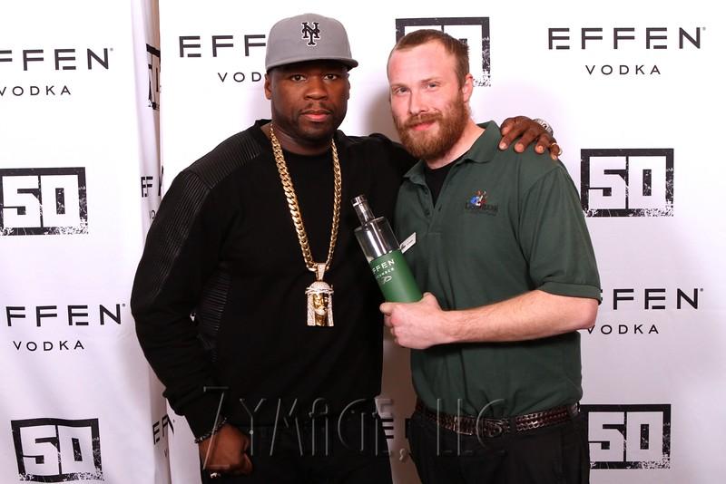 006 Effen Vodka 50 Cent Louisville by Zymage NM