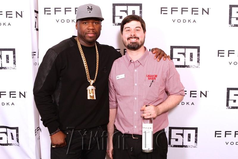 005 Effen Vodka 50 Cent Louisville by Zymage NM