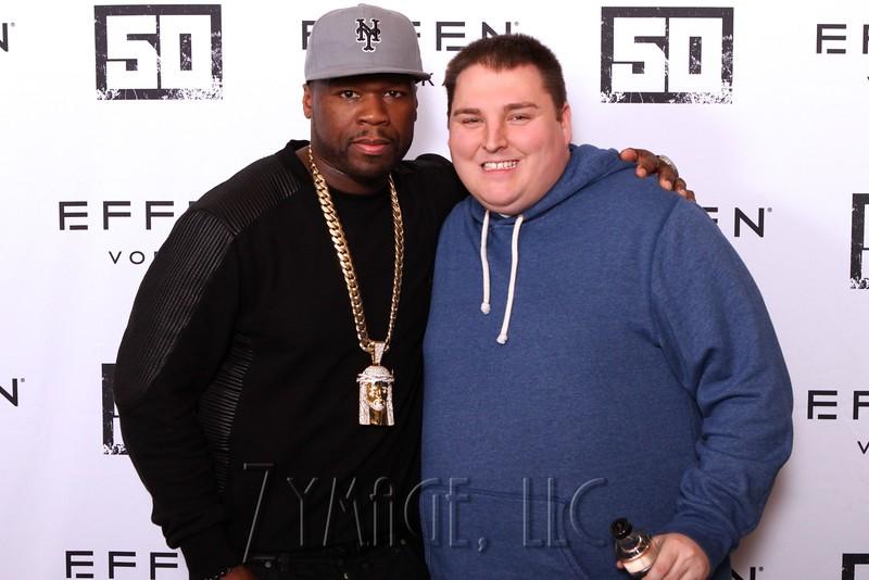 018 Effen Vodka 50 Cent Louisville by Zymage NM