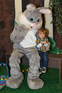 Meeting the Easter Bunny