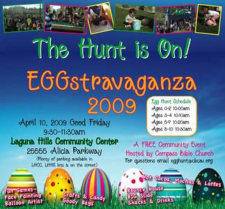 Eggstravaganza Set Up 2009