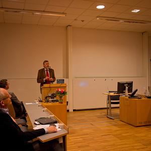 Utbildningsadministrativt symposium i Uppsala 9 mars 2012, hommage à Einar Lauritzen