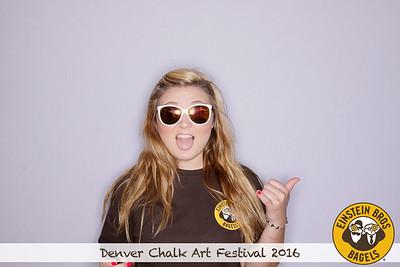 Einstein Bros @ Denver Chalk Art Festival | 06.04.16-06.05.16