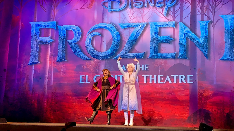 REVIEW: Anna and Elsa live on stage when you step into the unknown for FROZEN 2 at the El Capitan Theatre