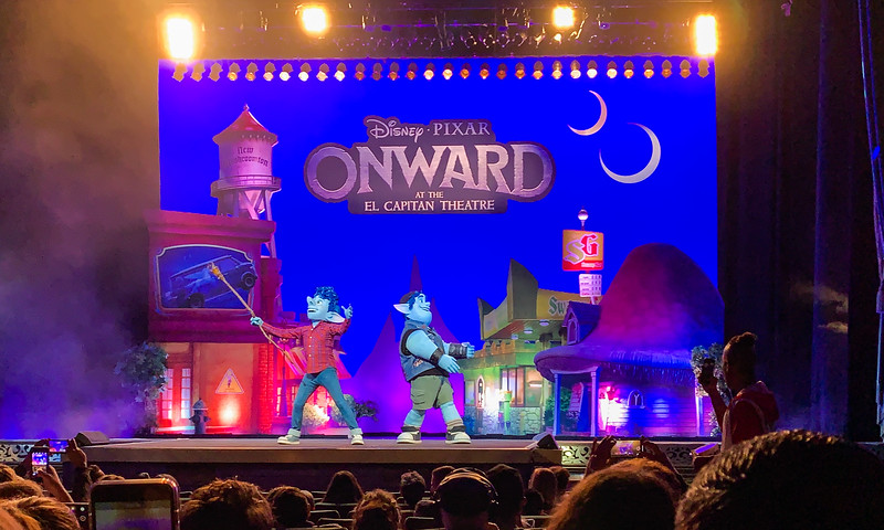 REVIEW: See Ian and Barley live on stage when you join the quest for ONWARD at the El Capitan Theatre