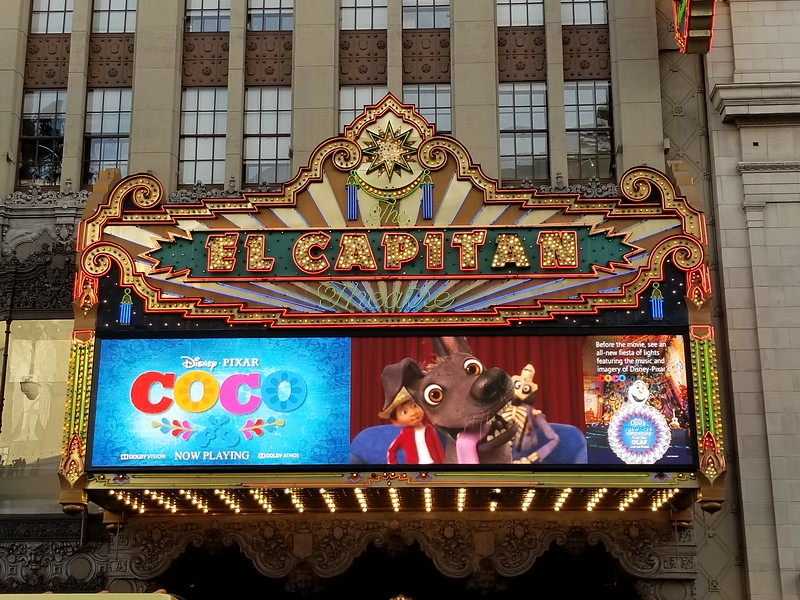 REVIEW: The El Capitan Theatre delivers unmatched engagement of Disney-Pixar's latest COCO