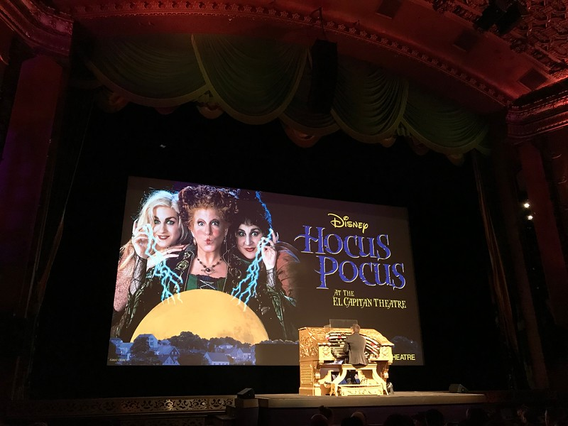 HOCUS POCUS & NIGHTMARE BEFORE CHRISTMAS bring not-so-scary backstage fun to the El Capitan
