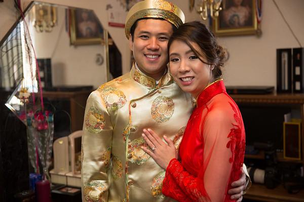 Elaine & Brian Tea Ceremony