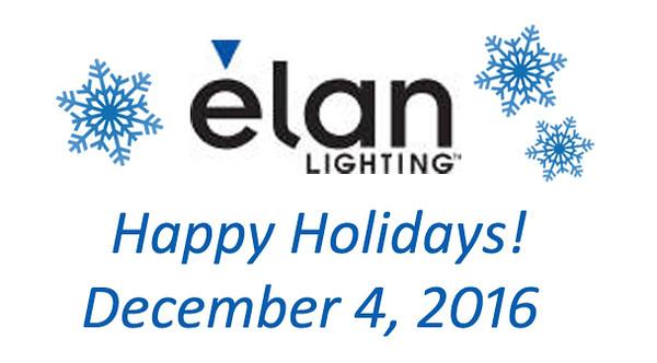 Elan Lighting Holiday Party