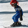 Stephen Fisk,  4, is starting to get the hang of it on his first day of skiing.<br /> Friday, November 20, 2009, was opening day at the Eldora Mountain Resort.<br /> Cliff Grassmick / November 20, 2009