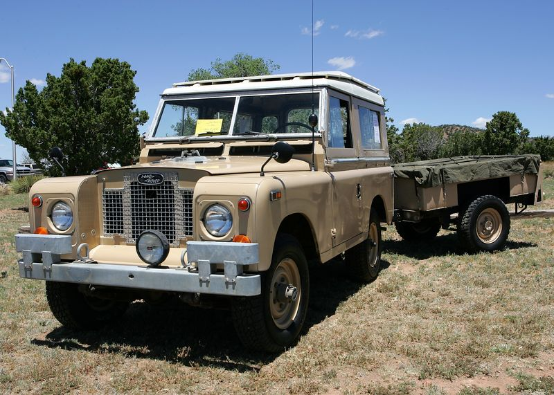 Tony Bonanno's Series IIA British Land Rover with Land Rover NATO Trailer