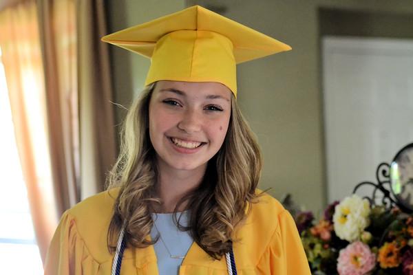 Eleanor's Middle School Graduation