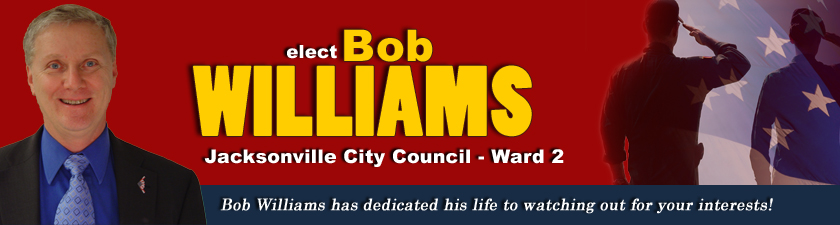 Bob Williams is running for Jacksonville NC City Council - Ward 2.  Visit Bob's Campaign at www.bobsgraphics.org .  Bob Williams has over thirty years experience working with Municipal, State, and Federal Government. He was a Criminal Investigator for the Air Force Office of Special Investigations and a Fraud Investigator working with domestic and foreign airlines. In 2009, Bob retired from the Los Angeles Unified School District (LAUSD), the second largest school district in the United States. Bob was a Deputy Inspector General with the Office of the Inspector General with oversight to prevent Fraud, Waste, and Abuse.  Bob Williams is a recognized business management professional by National leaders in Government, Industry, and Trade Associations. Bob was selected by Cook County and Chicago Bar Associations as one of three finalists for the Cook County Independent Inspector General from three hundred twenty-five candidates. Bob possess extensive knowledge and skills to manage complex and technical projects in high visibility organizations. Bob blends information technology and traditional management skills to resolve modern day business problems.   Bob Williams grew up in a small rural farm community, before enlisting in the Air Force. While serving in the Air Force, Bob married Alice 43 years ago and they were blessed with a daughter and a son. They are also proud grandparents of a granddaughter and three grandsons. Bob was assigned to Los Angeles AFB and they ended up living in Los Angeles for twenty three years. In 2009, Bob and Alice retired from their respective careers and moved to Jacksonville. Bob is an Air Force Vietnam Veteran and served our Country in the military for twenty years.   Bob Williams is a photographer and turned a hobby into a small business. Bob has been an avid photographer all his life and loves the outdoors.  He combines his passion for photography with his outdoor activities in order to create spectacular pictures. Bob has been active i
