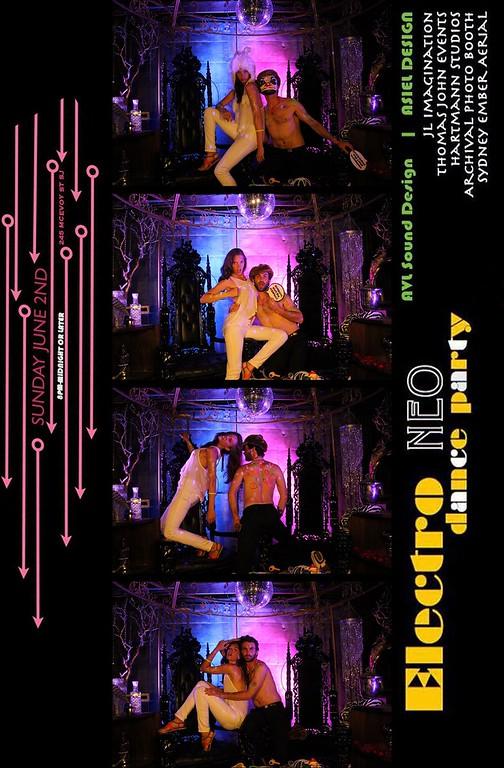 Electro Neo Party 6.2.13 Photo Strips