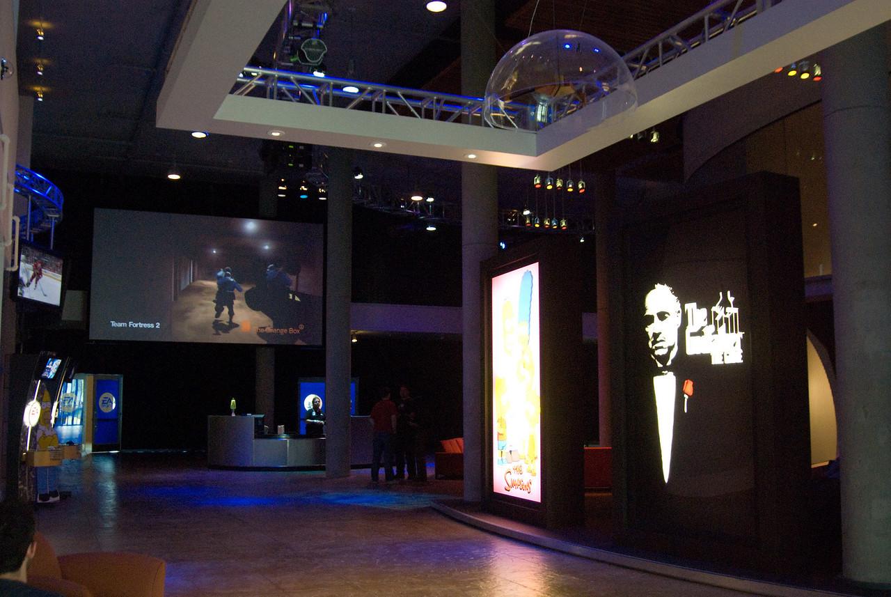 EA's main lobby and reception area.