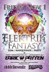 Flyer Graphic Design by ElektrikEventz™ - front