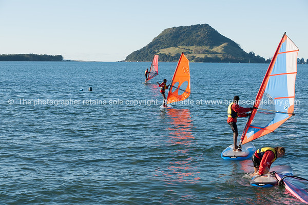 """Windsurfing, Elements Watersports. <br /> Model Release; No, editorial or personal use only. Windsurfing lessons Also see; <a href=""""http://www.blurb.com/b/3811392-tauranga"""">http://www.blurb.com/b/3811392-tauranga</a> Also see; <a href=""""http://www.blurb.com/b/3811392-tauranga"""">http://www.blurb.com/b/3811392-tauranga</a> Tauranga photographer,Tauranga photos, photos of Tauranga"""