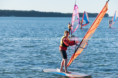 Windsurfing, Elements Watersports, Windsurfing lessons.  Model Release; No, editorial or personal use only. Windsurfing lessons  Also see; http://www.blurb.com/b/3811392-tauranga Also see; http://www.blurb.com/b/3811392-tauranga Tauranga photographer,Tauranga photos, photos of Tauranga