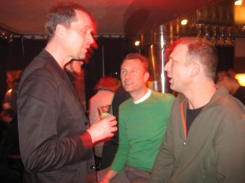 Ton, Raymond and Maarten