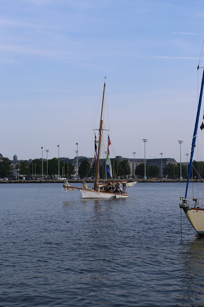 2015-05-16 Elf Classic Yacht Race, the start at Eastport Yacht Club