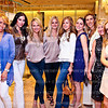 Estee Portnoy, Amy Baier, Jamie Dorros, Sharon Bradley, Jocelyn Greenan, Sara Lange, Pam Taylor, Stacey Capuano, Stacey Lubar. Elie Tahari Opening. Photo © Tony Powell. April 27, 2011