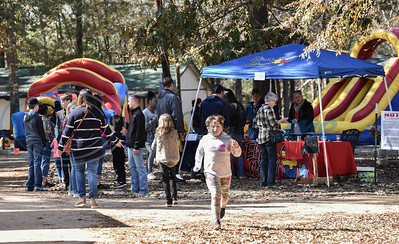 Jacksonville and surrounding area residents headed to Elijah's Retreat for their Fall Festival on Saturday. The event served as a fundraiser and celebration of 10 years in business. (Jessica T. Payne/Tyler Morning Telegraph)