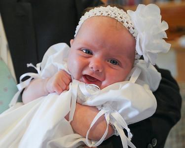 Elise Baptism June 2013