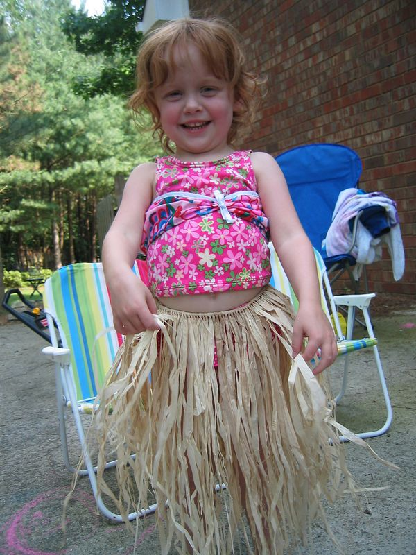 Hawaiian Birthday Beauty!