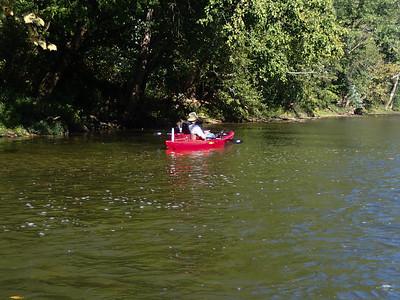 Elkhorn Creek Fishing 9-22-12