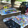 Plenty of prizes provided by the Elks Lodge ensured no child left the fishing derby empty handed.