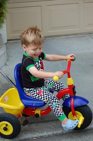E's new bike!